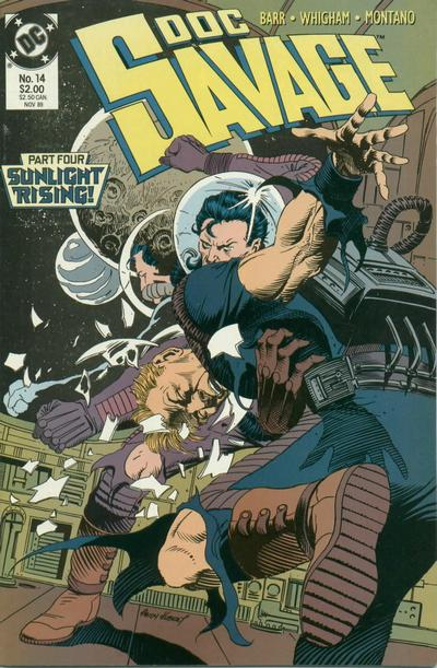 Cover for Doc Savage (DC, 1988 series) #14