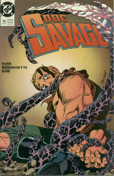 Cover for Doc Savage (DC, 1988 series) #15