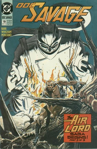 Cover for Doc Savage (DC, 1988 series) #19