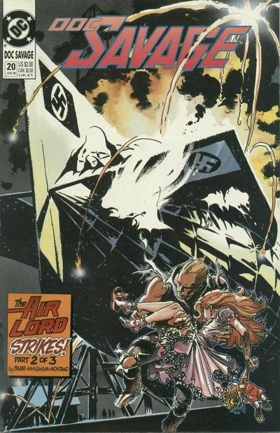 Cover for Doc Savage (DC, 1988 series) #20