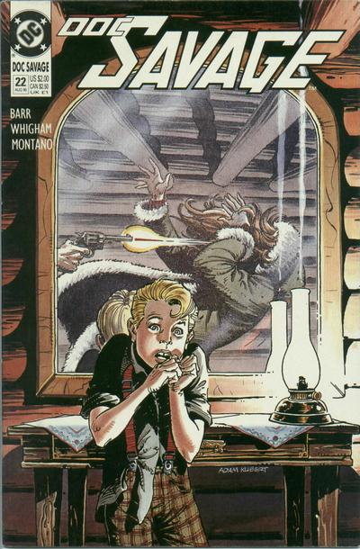 Cover for Doc Savage (DC, 1988 series) #22