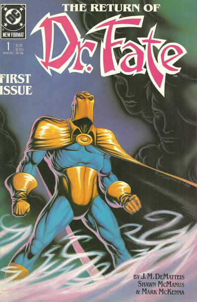 Cover for Doctor Fate (DC, 1988 series) #1