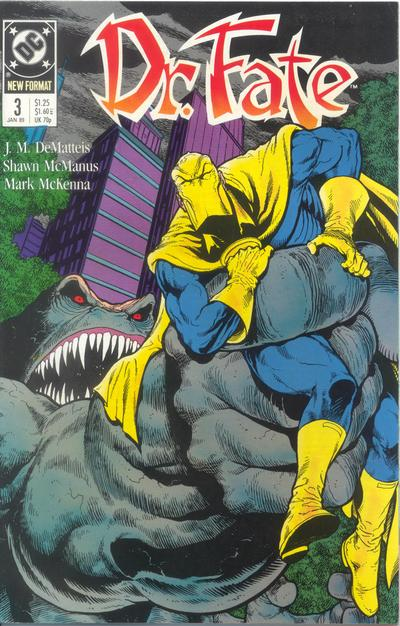 Cover for Doctor Fate (DC, 1988 series) #3