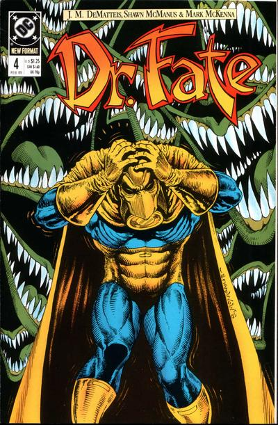 Cover for Doctor Fate (DC, 1988 series) #4