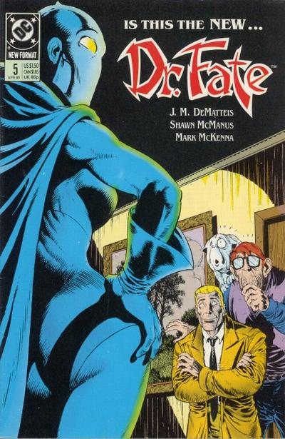 Cover for Doctor Fate (DC, 1988 series) #5