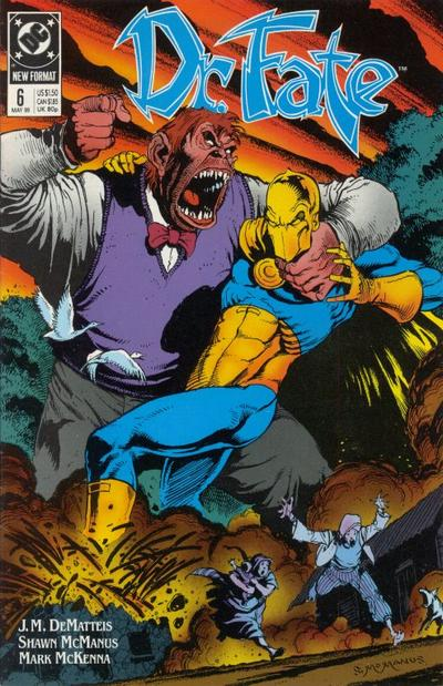 Cover for Doctor Fate (DC, 1988 series) #6