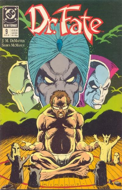 Cover for Doctor Fate (DC, 1988 series) #9