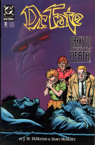 Cover for Doctor Fate (DC, 1988 series) #10
