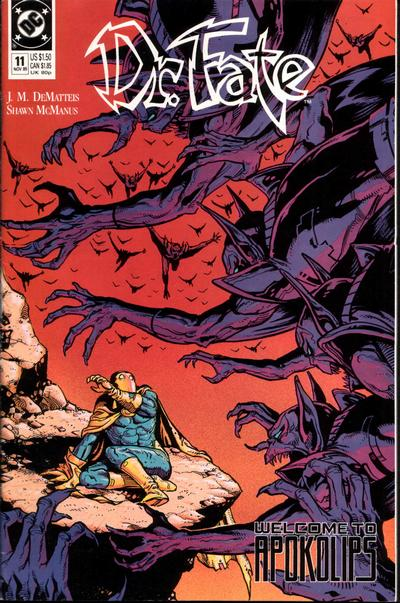 Cover for Doctor Fate (DC, 1988 series) #11