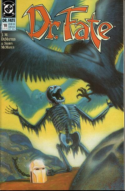 Cover for Doctor Fate (DC, 1988 series) #18