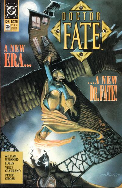 Cover for Doctor Fate (DC, 1988 series) #25