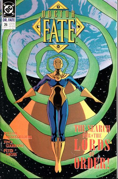 Cover for Doctor Fate (DC, 1988 series) #26
