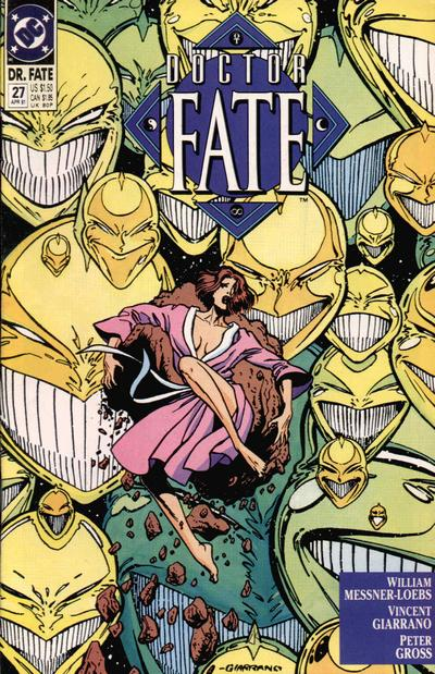 Cover for Doctor Fate (DC, 1988 series) #27