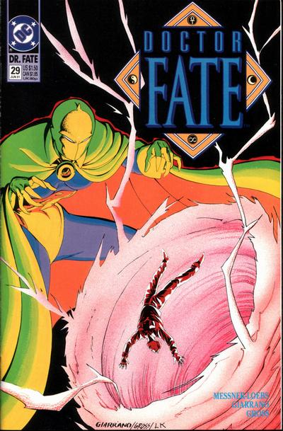 Cover for Doctor Fate (DC, 1988 series) #29