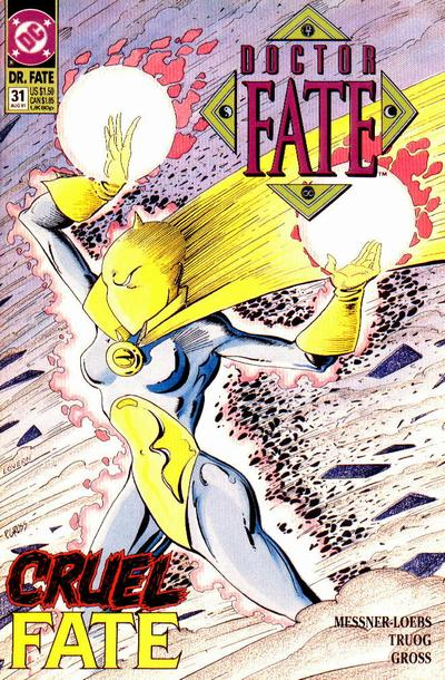 Cover for Doctor Fate (DC, 1988 series) #31