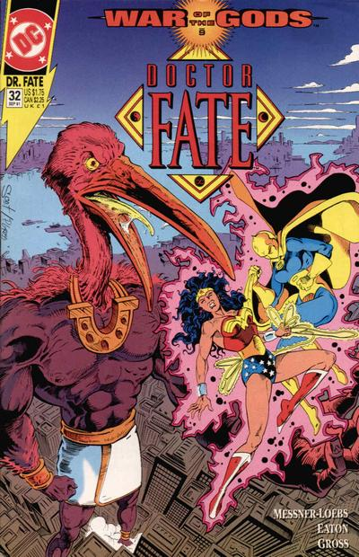 Cover for Doctor Fate (DC, 1988 series) #32