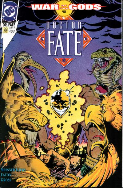 Cover for Doctor Fate (DC, 1988 series) #33