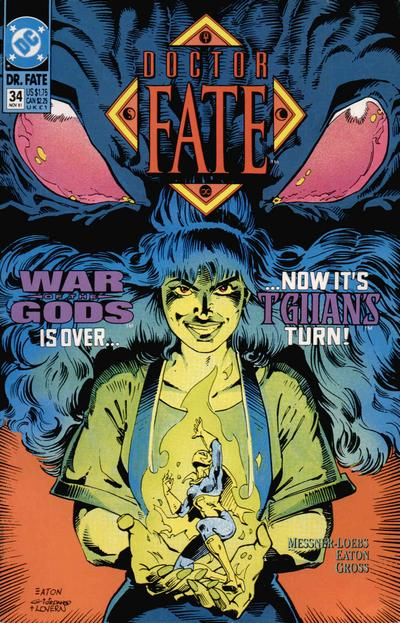 Cover for Doctor Fate (DC, 1988 series) #34