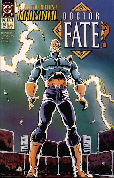 Cover for Doctor Fate (DC, 1988 series) #36