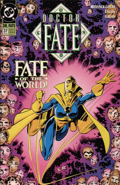 Cover for Doctor Fate (DC, 1988 series) #37