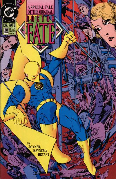 Cover for Doctor Fate (DC, 1988 series) #38