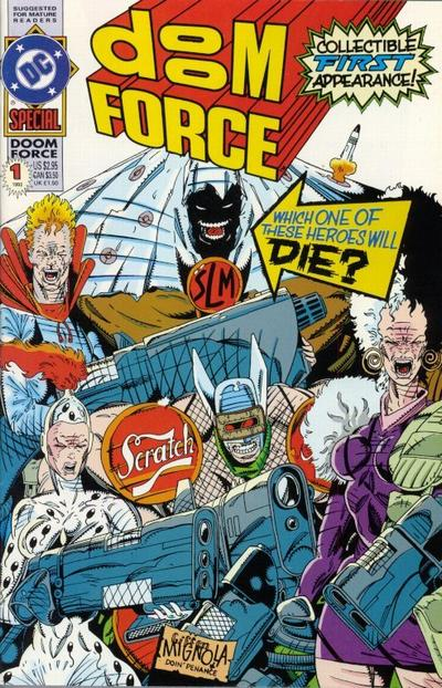 Cover for Doom Force Special (DC, 1992 series) #1