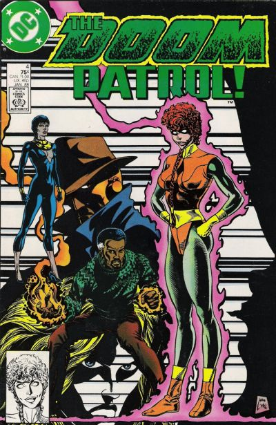 Cover for Doom Patrol (DC, 1987 series) #4