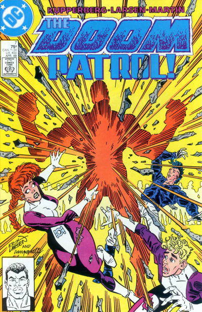 Cover for Doom Patrol (DC, 1987 series) #7 [Direct Edition]