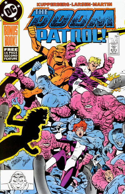 Cover for Doom Patrol (DC, 1987 series) #9 [Direct Edition]