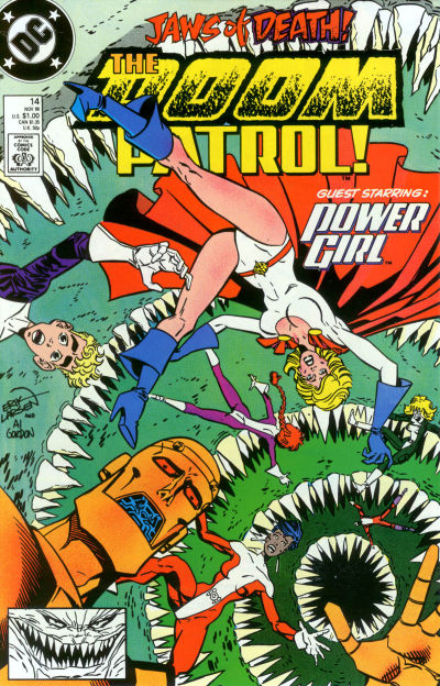 Cover for Doom Patrol (DC, 1987 series) #14 [Direct]