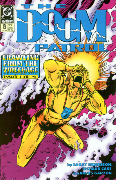Cover for Doom Patrol (DC, 1987 series) #19