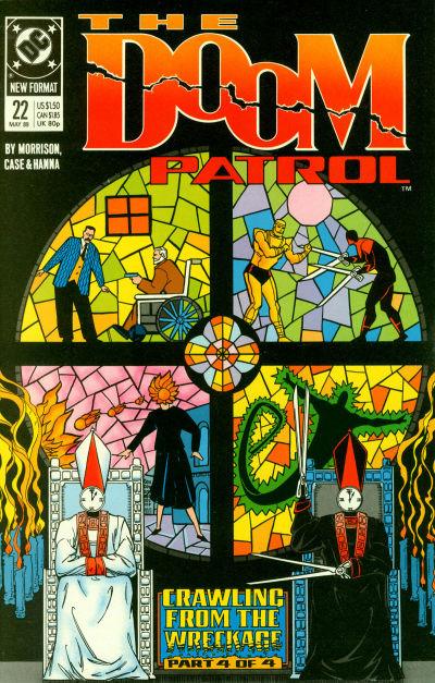 Cover for Doom Patrol (DC, 1987 series) #22