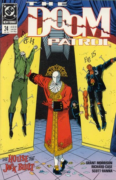 Cover for Doom Patrol (DC, 1987 series) #24