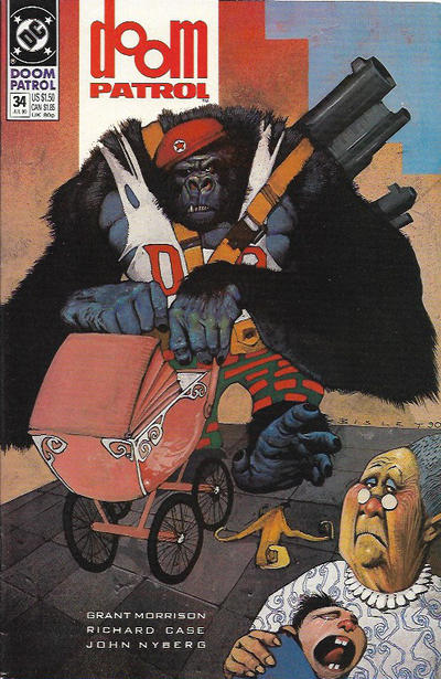 Cover for Doom Patrol (DC, 1987 series) #34