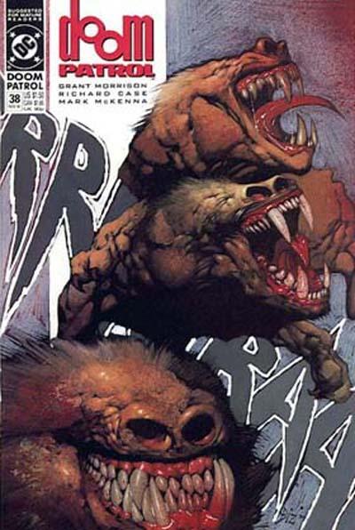Cover for Doom Patrol (DC, 1987 series) #38