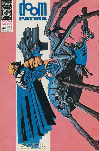 Cover for Doom Patrol (DC, 1987 series) #40