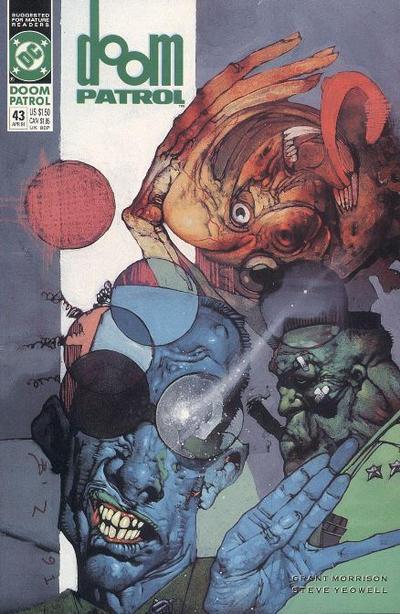 Cover for Doom Patrol (DC, 1987 series) #43