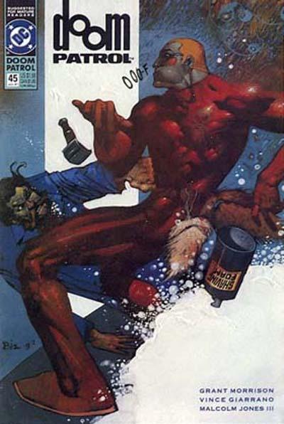 Cover for Doom Patrol (DC, 1987 series) #45