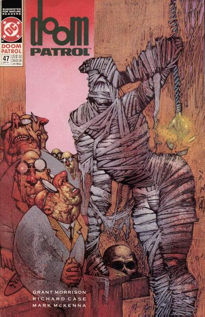 Cover for Doom Patrol (DC, 1987 series) #47