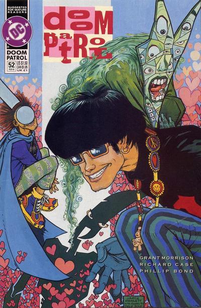 Cover for Doom Patrol (DC, 1987 series) #52
