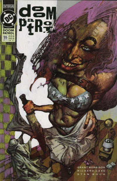 Cover for Doom Patrol (DC, 1987 series) #55
