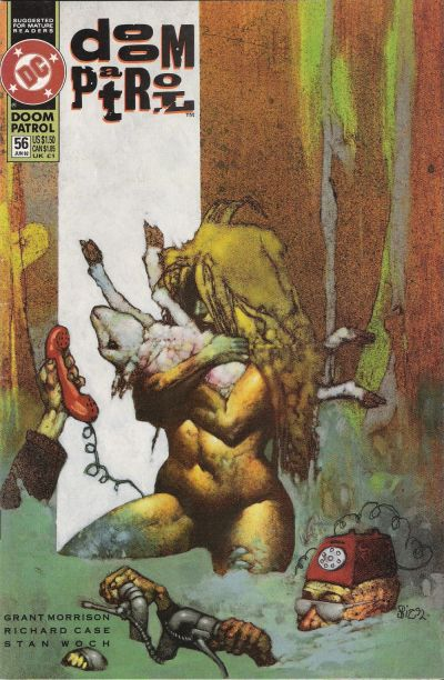 Cover for Doom Patrol (DC, 1987 series) #56
