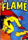 Cover for The Flame (Fox, 1940 series) #4