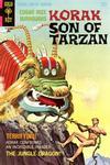 Cover for Edgar Rice Burroughs Korak, Son of Tarzan (Western, 1964 series) #22 [12¢]