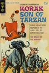 Cover for Edgar Rice Burroughs Korak, Son of Tarzan (Western, 1964 series) #37