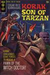 Cover for Edgar Rice Burroughs Korak, Son of Tarzan (Western, 1964 series) #38
