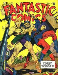Cover Thumbnail for Fantastic Comics (Fox, 1939 series) #2