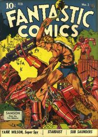 Cover Thumbnail for Fantastic Comics (Fox, 1939 series) #3