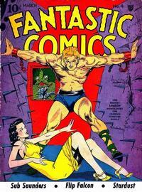 Cover Thumbnail for Fantastic Comics (Fox, 1939 series) #4