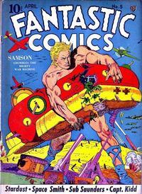 Cover Thumbnail for Fantastic Comics (Fox, 1939 series) #5